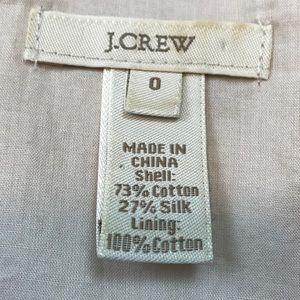 J. Crew Tops - J crew cream ruffle bow sleeveless top